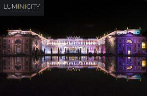 MONUMENTAL PALACIO EN LA ILUMINACIÓN LED RGBW
