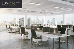 WORKSPACES WITH SMART AND DYNAMIC LED LIGHT SOLUTIONS
