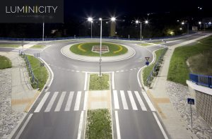 TRAFFIC INTERSECTION LED-LIGHTING